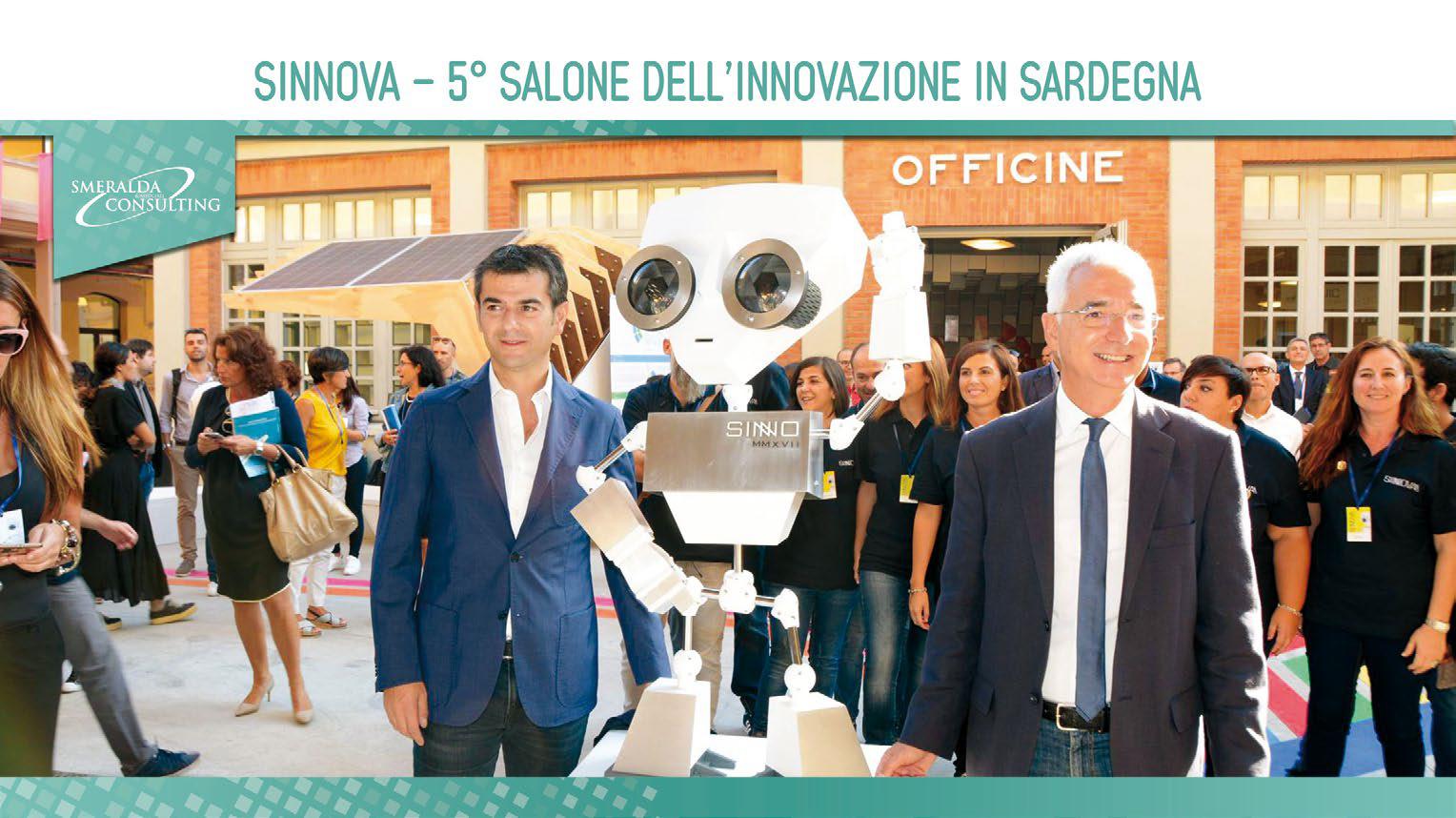 SINNOVA – 5 Salone dell'innovazione in Sardegna