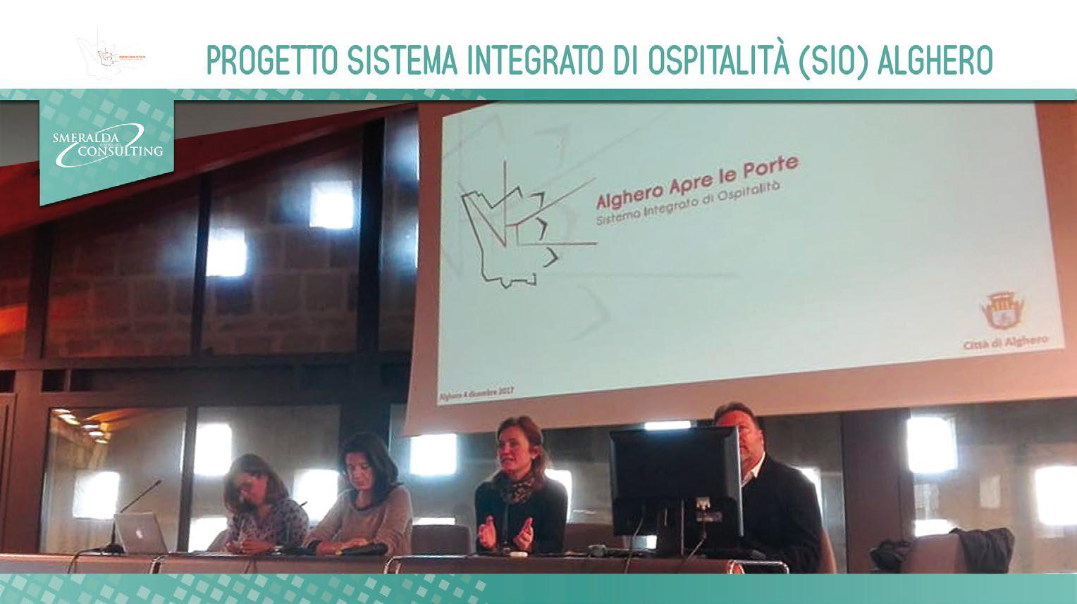Progetto Sistema Integrato di Ospitalità (SIO) Alghero
