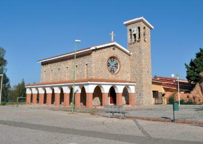 Chiesa di Santa Barbara, Bacu Abis