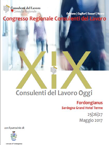 XIX Congresso Regionale Consulenti del lavoro