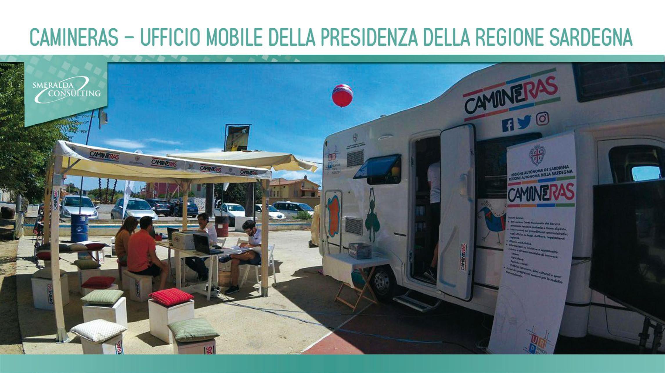 Camineras – Ufficio Mobile Presidenza della Regione Sardegna