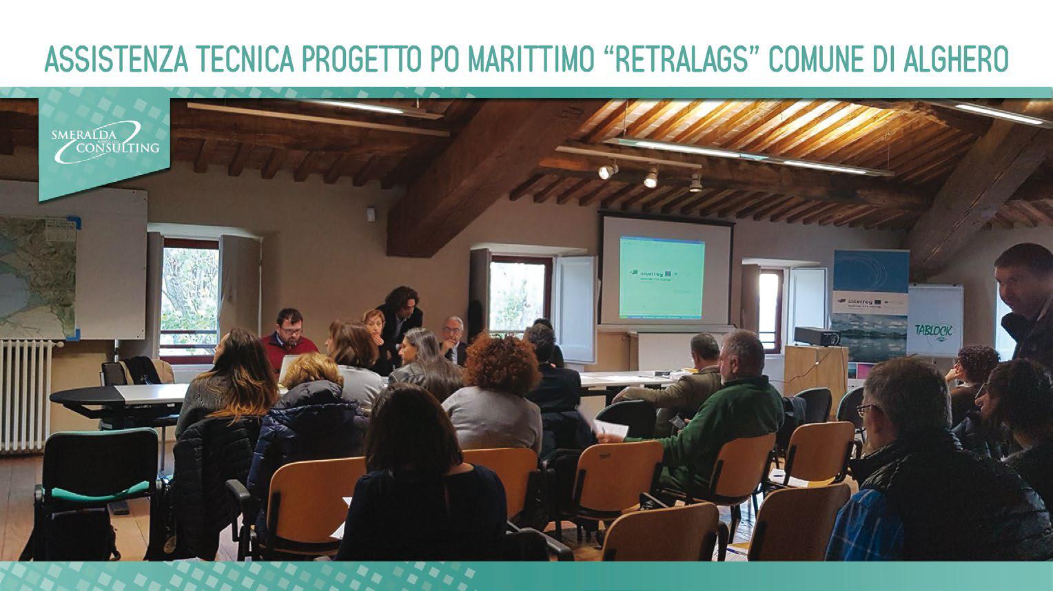 """Assistenza tecnica Progetto Po Marittimo """"Retralags"""" Comune di Alghero"""