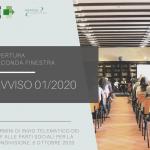 Apertura seconda Finestra Avviso FonArCom 01/2020
